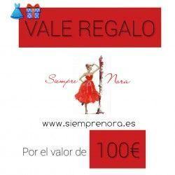 VALES DE REGALO 100euros